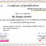 sertifikat lg klime multi v